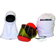 SKA12 Arc Flash Hood Face Shield Safety Glasses Hard Hat with Safety kit