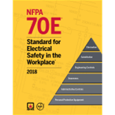 NFPA 70E: Standard for Electrical Safety in the Workplace (2018)