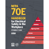 2018 Hardbound NFPA 70E: Handbook for Electrical Safety in the Workplace