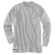 100235 Men's Flame Resistant Force Cotton Long Sleeve T-Shirt