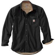 100432 Men's Flame Resistant Canvas Shirt Jacket