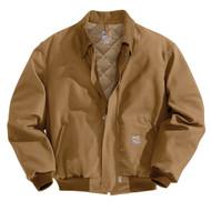 101623 Men's Flame Resistant Duck Bomber Jacket