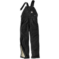 101626 Men's Flame Resistant Duck Bib Lined Overall