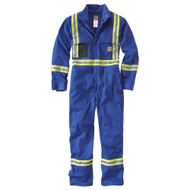 101705 Men's Flame Resistant Striped Coverall