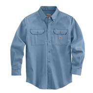 FRS003 Men's Flame Resistant Lightweight Twill Shirt