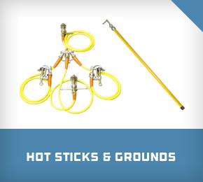Hot Sticks & Grounds
