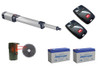 BFT Kustos Ultra BT UL A40 KLEBR93531704 Swing Gate Opener kit with Photo Eye, 2 Mitto Remotes and 2 Batteries - BFT-SWKIT3