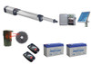 BFT Kustos Ultra BT UL A40 KERCR93524501F Swing Gate Opener kit with Solar Kit, Photo Eye, 2 Mitto Remotes and 2 Batteries - BFT-SWKIT5