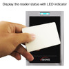 ACCESS CONTROL BLACK WITH CLEAR BORDER CARD READER - 356-3102 LED Indicator
