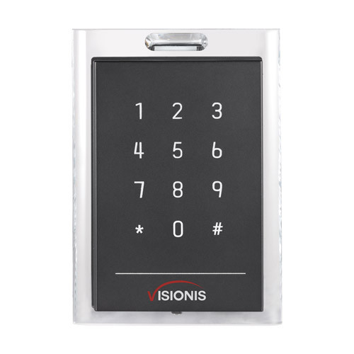 ACCESS CONTROL BLACK WITH CLEAR BORDER CARD READER AND KEYPAD - 356-3103