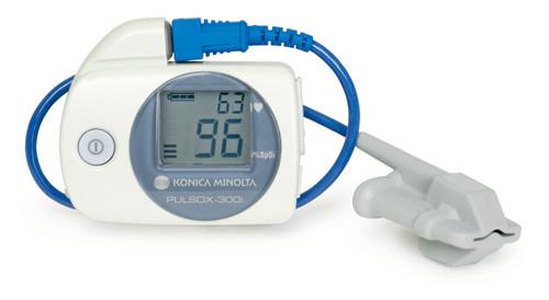 Konica Minolta Pulsox-300i Pulse Oximeter with Soft Tip Probe - R204P18-002