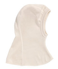 natural silk baby balaclava bonnet