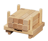 Fagus pallet with lumber