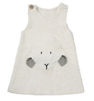 organic cotton lamb dress
