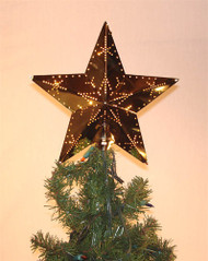 classic brass tree topper