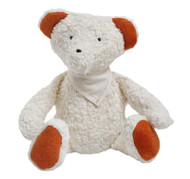organic cotton and wool plush teddy bear