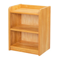 Child's solid wood play shelves.  Made in Germany.