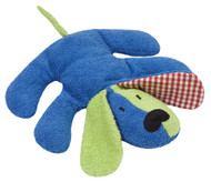 organic cotton and wool stuffed animal plush dog