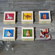 mini animals cube puzzle