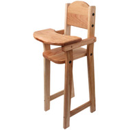 cherry doll high chair