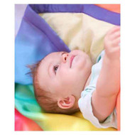 Sarah's Silks rainbow blanket