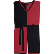 black-red tunic