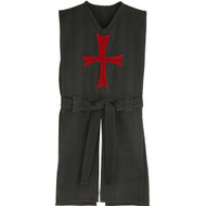 black tunic with red cross