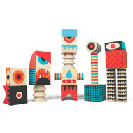 Stack N Scare Monster Blocks Set 1