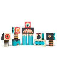 Stack N Scare Monster Blocks Set 4