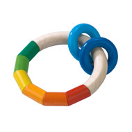 HABA teething ring rattle