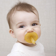 Natursutten natural rubber pacifier, butterfly shape