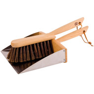 dust pan with hand broom