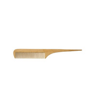 fine wooden comb with handle