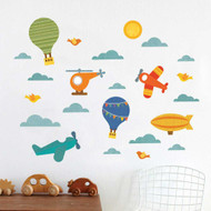 By Air fabric wall decals