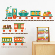 By Rail fabric wall decals