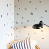 Stars fabric wall decals