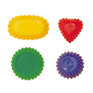 Glueckskaefer sand molds, set of 4.