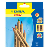 Lyra short Ferby colouring pencils