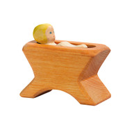Ostheimer child in crib, 2 pieces #40403