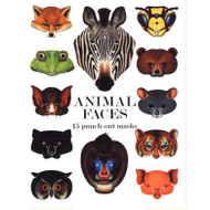 Animal Faces punch-out masks