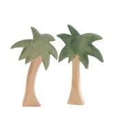 Ostheimer mini palm trees, set of 2