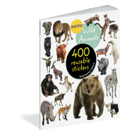 Wild Animals, 400 reusable stickers