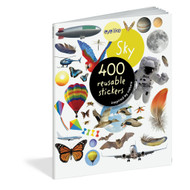 Sky, 400 reusable stickers