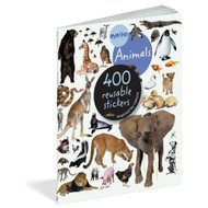 Animals, 400 reusable stickers