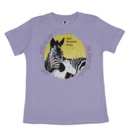 Cape Mountain Zebra fair trade organic cotton tee