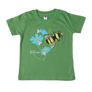 Western Bumble Bee fair trade organic cotton tee