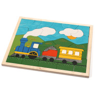 large choo-choo train puzzle