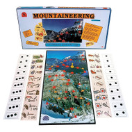 Mountaineering cooperative board game