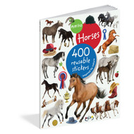 Horses, 400 reusable stickers