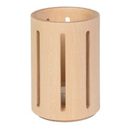 maple candleholder